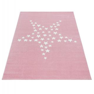 Ayyildiz koberce AKCE: Kusový koberec Bambi 870 pink - 120x170 cm Bílá