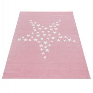 Ayyildiz koberce AKCE: Kusový koberec Bambi 870 pink - 80x150 cm Bílá