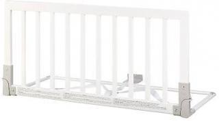 BabyDan Zábrana k posteli dřevěná bílá 45x90cm - rozbaleno