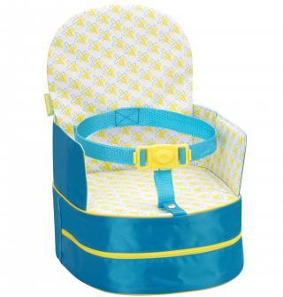 BADABULE Přenosná židlička 2v1 One-the-Go Blue