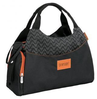 Badabulle taška Multipocket Black,Badabulle taška Multipocket Black