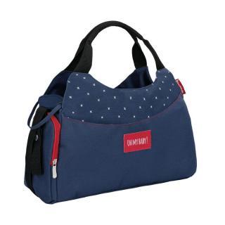 Badabulle taška Multipocket Dark Blue,Badabulle taška Multipocket Dark Blue