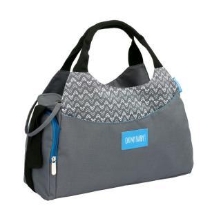 Badabulle taška Multipocket Grey,Badabulle taška Multipocket Grey