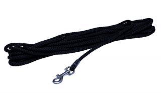 BAFPET Stopovací šňůra, lano 10 m černá - rozbaleno