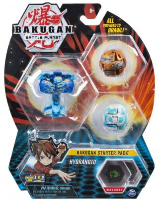 Bakugan Startovací sada 3 ks Hydranoid