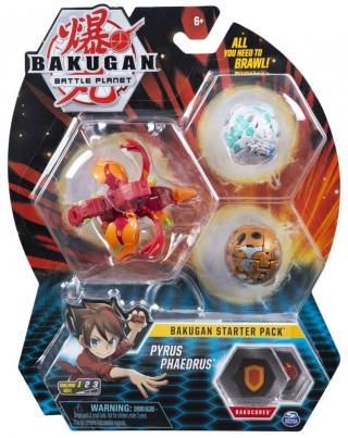 Bakugan Startovací sada 3 ks Pyrus Phaedrus