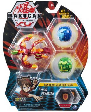 Bakugan Startovací sada 3 ks Pyrus Pyravian