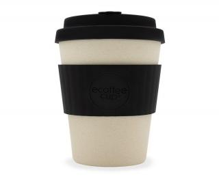 Bambusový hrnek Ecoffee Cup Black Nature, 350 ml - černá