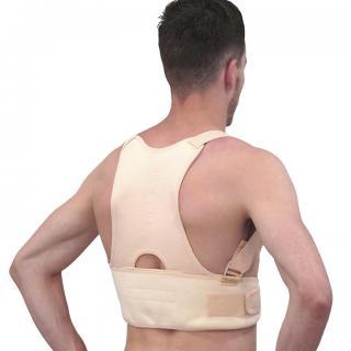 Bandáž pro správné držení těla, magnetická