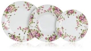 Banquet Sada talířů BEAUTY, 18 ks - zánovní