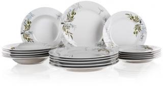 Banquet Sada talířů OLIVES, 18 ks, OK - rozbaleno