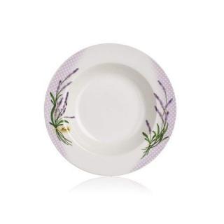 Banquet Talíř porcelánový hluboký LAVENDER 21,6 - rozbaleno