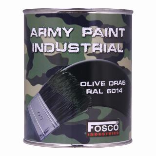 Barva nátěrová 1l Fosco - olive drab ral 6014