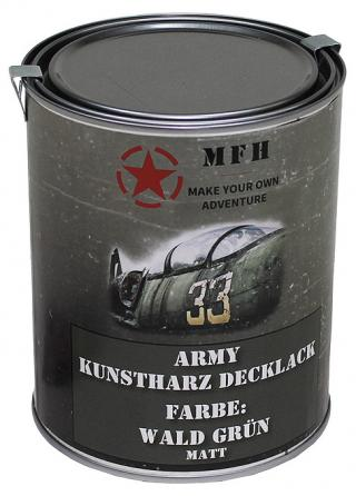 Barva v plechovce MFH 1 litr - wald grün