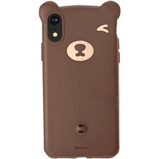 Baseus Bear Silicone Case pro iPhone Xr 6.1