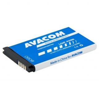 Baterie Avacom pro LG GM360 Li-Ion 3,7V 900mAh,