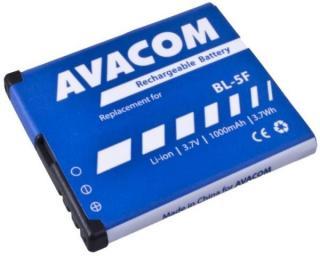 Baterie Avacom pro Nokia N95, E65, Li-Ion 3,6V 1000mAh