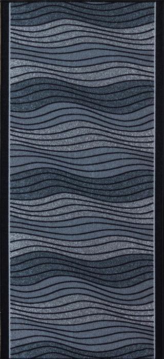Berfin Dywany Protiskluzový běhoun na míru Zel 1015 Silver  - šíře 67 cm s obšitím Šedá