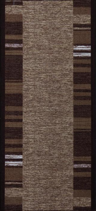 Berfin Dywany Protiskluzový běhoun na míru Zel 1016 Brown - Šíře 57 cm s obšitím Hnědá
