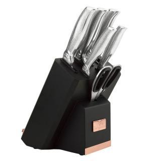 Berlingerhaus Sada nožů ve stojanu s držákem na tablet a brouskem 7 ks - rozbaleno