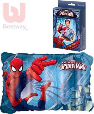 BESTWAY Polštář dětský nafukovací do vody Spiderman 98013