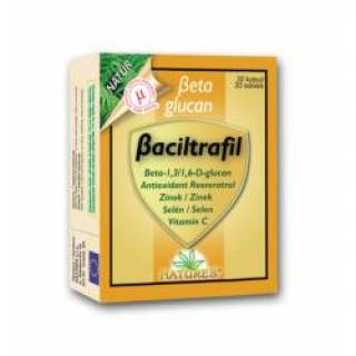 Beta glucan Baciltrafil 30 kapslí