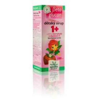 Beta glucan Dětský sirup 1  100 ml