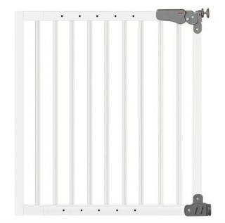 Bezpečnostní zábrana Reer T Active-Lock, kovová, bílá