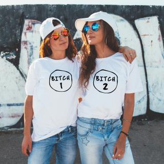 BFF trička pro nejlepší kamarádky Bitch