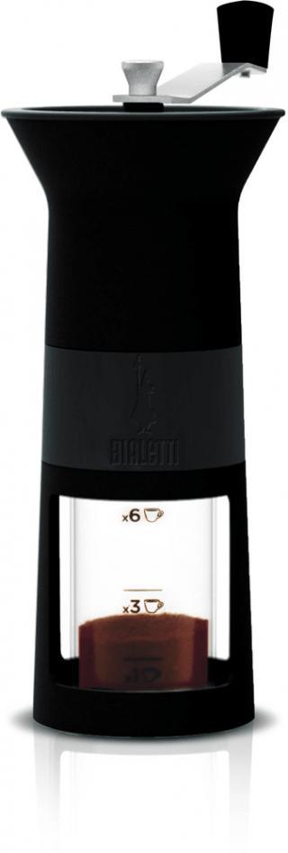 Bialetti Ruční mlýnek na kávu černý - zánovní