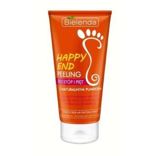 Bielenda Peeling na nohy s přírodní pemzou Happy End  125 ml