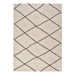Bílý koberec Universal Atlas Geo, 133 x 190 cm