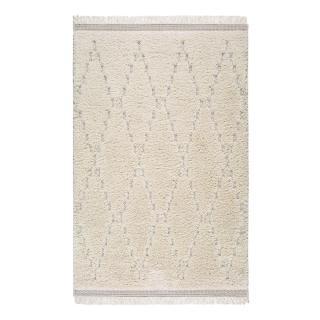 Bílý koberec Universal Kai Geo, 75 x 155 cm