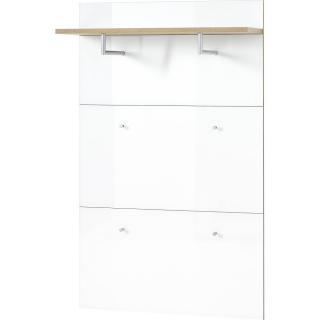 Bílý nástěnný věšák Germania Telde, 89 x 144 cm