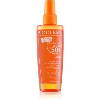 Bioderma Photoderm Bronz ochranný suchý olej ve spreji SPF 50