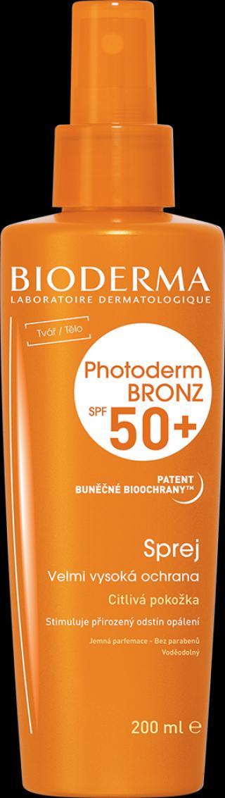 BIODERMA Photoderm bronz, opalovací krém spf50  spray
