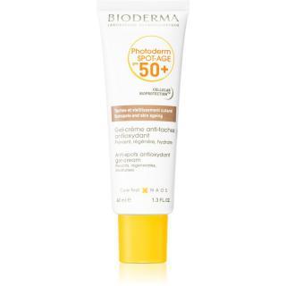Bioderma Photoderm Spot-Age opalovací gel-krém na obličej proti pigmentovým skvrnám 40 ml