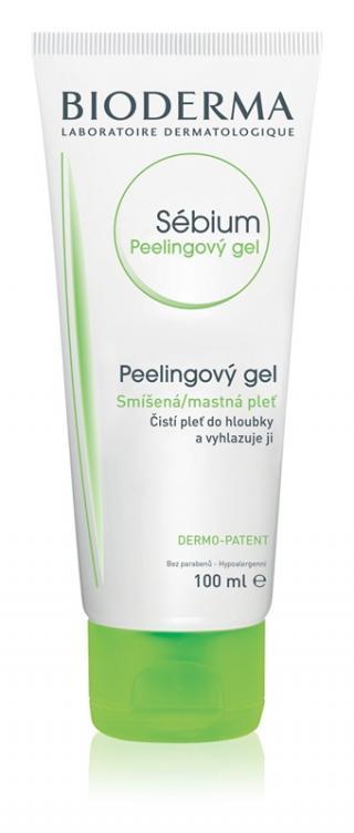 BIODERMA Sébium Peelingový gel 100 ml