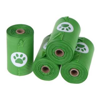 Biologicky odbouratelný sáček na psí exkrementy - 20 rolí à 15 sáčků
