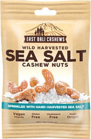 Black Kale Kešu ořechy - Sea Salt 35g