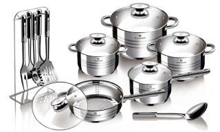 Blaumann Sada nádobí 17 ks Gourmet Line - rozbaleno