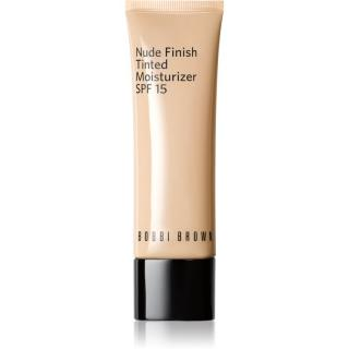 Bobbi Brown Nude Finish Tinted Moisturzier lehký hydratační make-up SPF 15 odstín LIGHT TO MEDIUM TINT 50 ml