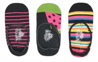 Boboli dívčí sada tří párů ponožek 28 - 30 vícebarevná