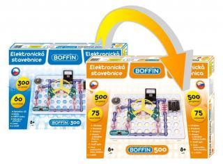 Boffin 300 - rozšíření na Boffin 500 - rozbaleno