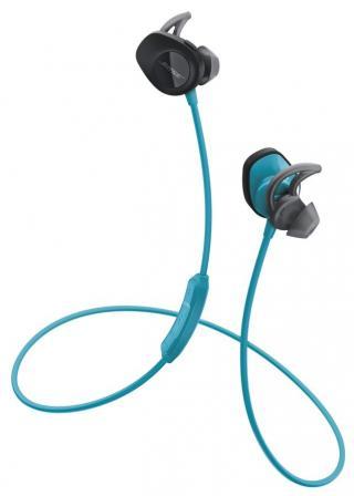 Bose SoundSport wireless bezdrátová sluchátka, modrá - rozbaleno