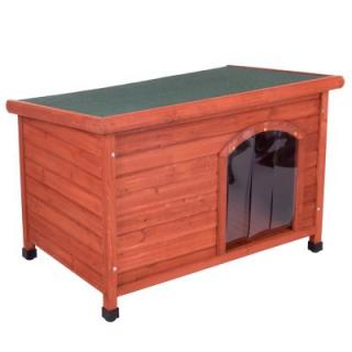 Bouda pro psy Woody s rovnou střechou - vel. M: Š 104 x H 66 x V 70 cm