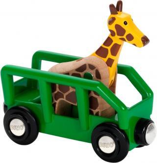 Brio WORLD 33724 Žirafa a vagón - rozbaleno