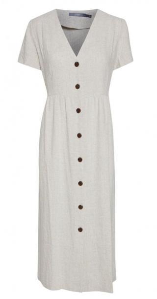 b.young dámské šaty Johanna 20808241 40 šedá