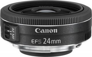 Canon EF-S 24mm f/2,8 STM - rozbaleno