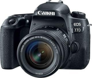 Canon EOS 77D   18-55 EF-S IS STM - zánovní